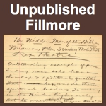 Unpublished Fillmore