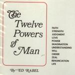 Ed Rabel - Twelve Powers of Man (Audio)
