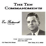 Eric Butterworth - The Ten Commandments