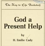 Emilie Cady God A Present Help (Text)