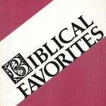 Biblical Favorites by Jim Lewis