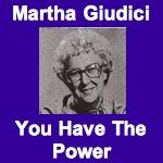 Martha Giudici You Have The Power