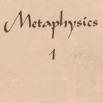Unity Metaphysics Tan Book 1
