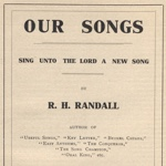 Our Songs by R.H. Randall