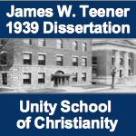 James W Teener 1939 Dissertation on Unity