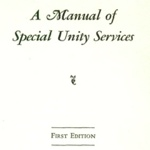 A Manual of Special Unity Services (1937)