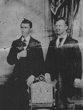 Charles Small and Charles Fillmore in Pueblo Colorado