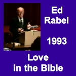 Ed Rabel Love in the Bible