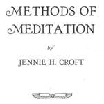 Methods of Meditation by Jenny Croft