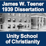 James W Teener 1939 Dissertation on Unity